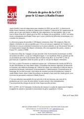 communique de presse cgt rf   reprise de la greve