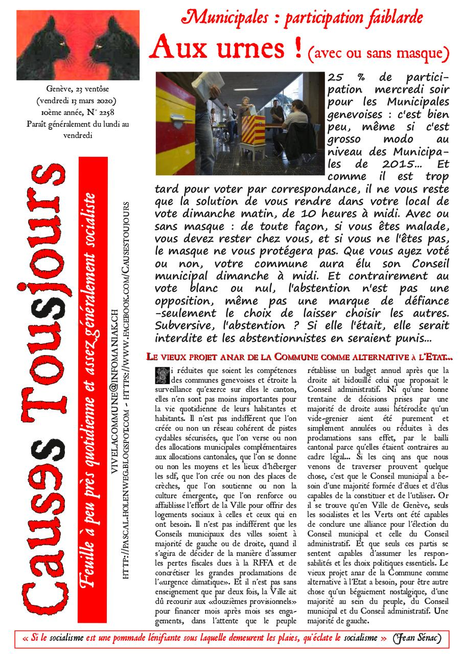 Aperçu du document Newsletter2258 (1).pdf - page 1/2