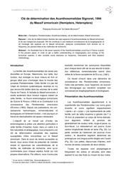 hemipteres acanthosomatidae armoricains