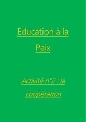 activite n2 la cooperation