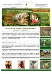06 20 moniliose des especes fruitieres a noyaux