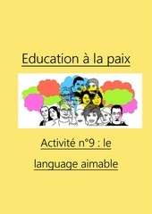 activite n9 le language aimable