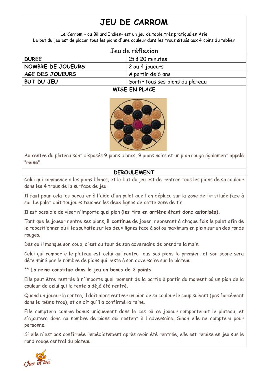 Aperçu du document CARROM.pdf - page 1/2