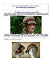 tuto chapeau rosabelle 30 03 2020