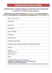registration form pb uganda nov  2020