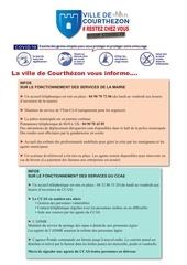 bulletin info covid 19