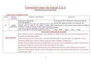 correction plan de travail ce2 semaine du 6 avril 2020