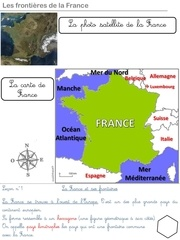 frontiere france lecon ce2