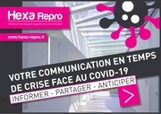 support de communication covid 19