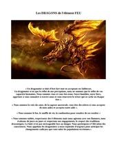 dragons element feu