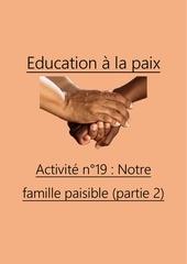 activite n19 la famille paisible 2