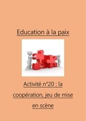 activite n20 la cooperation jeu de mise en scene