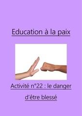 activite n22 le danger detre blesse