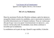 mca 9 meditation inri pander ieouams
