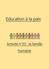 activite n23 la famille humaine