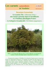 laurier tin viburnum tinus carnets vendoire d raymond 2020