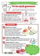 fiche recette sivuresc verrine fraises