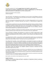 lettre ouverte de la cbc namur luxembourg a monsieur magnette