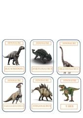 plaquette dinosaure 1