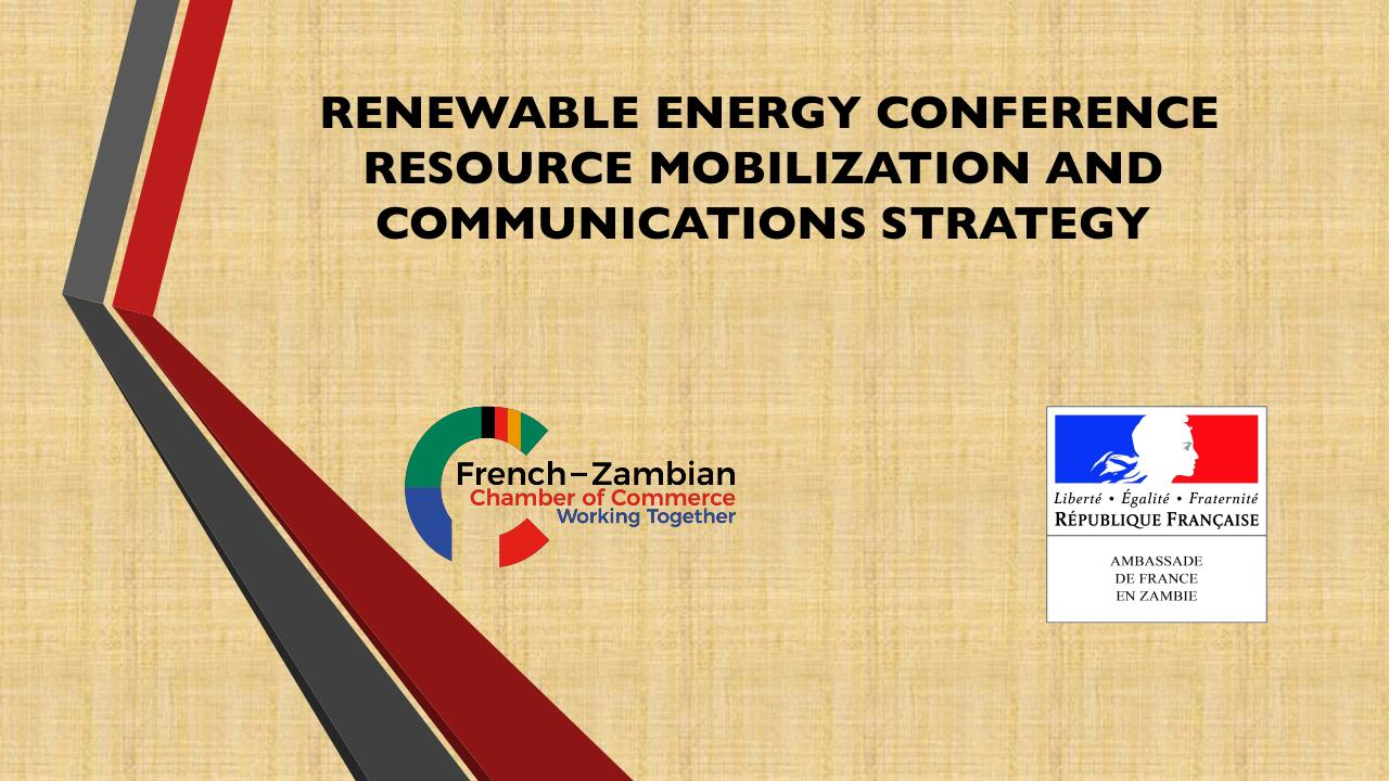 Aperçu du document Renewable Energy Conference Resource Mobilization (updated).pdf - page 1/15