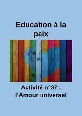 activite n37 lamour universel