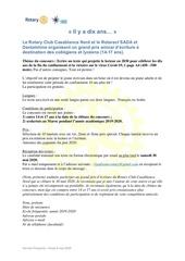 concours decriture 2020 frvf