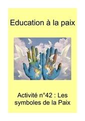 activite n42 les symboles de la paix