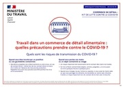 covid19 commerce detail alimentaire