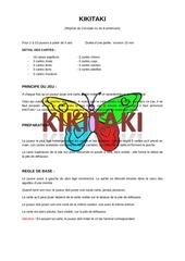 regles du jeu kikitaki 1