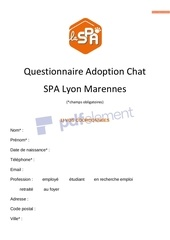 formulaire adoption chat 1