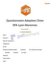 formulaire adoption chien 1