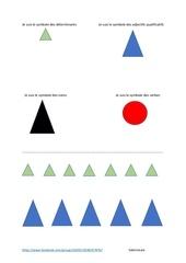 symboles grammaire