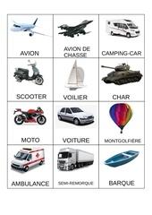 memory moyen de transport  vehicule