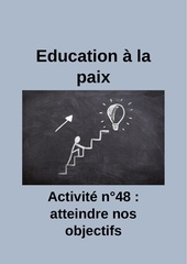 activite n48 atteindre ses objectifs