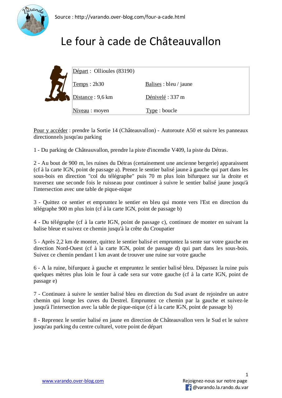 Aperçu du document le four à cade.pdf - page 1/2