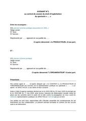 exempleavenant annulation indemnisationsansreport