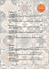 carte boissons cafe mola