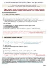 dossier candidature csmv ab
