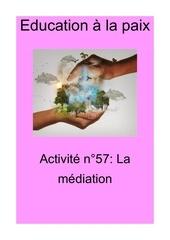activite n57 la mediation