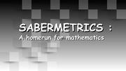 sabermetrics