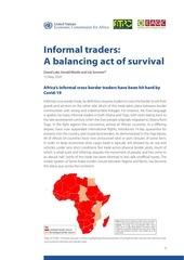 informal traders  a balancing act of survival