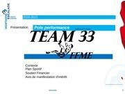 team 33 ffme 2020