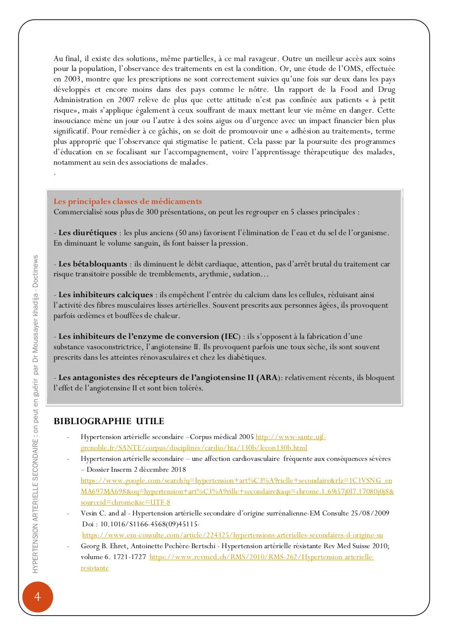 HYPERTENSION ARTERIELLE SECONDAIRE  ON PEUT EN GUERIR.pdf - page 4/5
