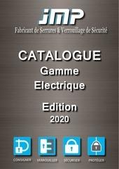 catalogue gamme electrique jmp 2020
