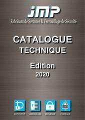 catalogue technique  jmp 2020