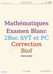 correction blanc 1 fr
