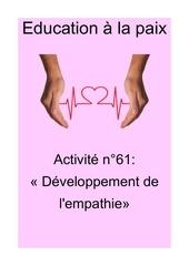 activite n62 developpement de lempathie
