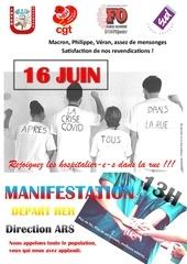 manifestation 16 juin ciu cgt fo sud heh