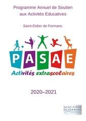 programme annuel de soutien aux activites educatives 1