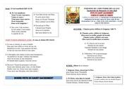 feuille de messe du dimanche 14 juin 2020pdf